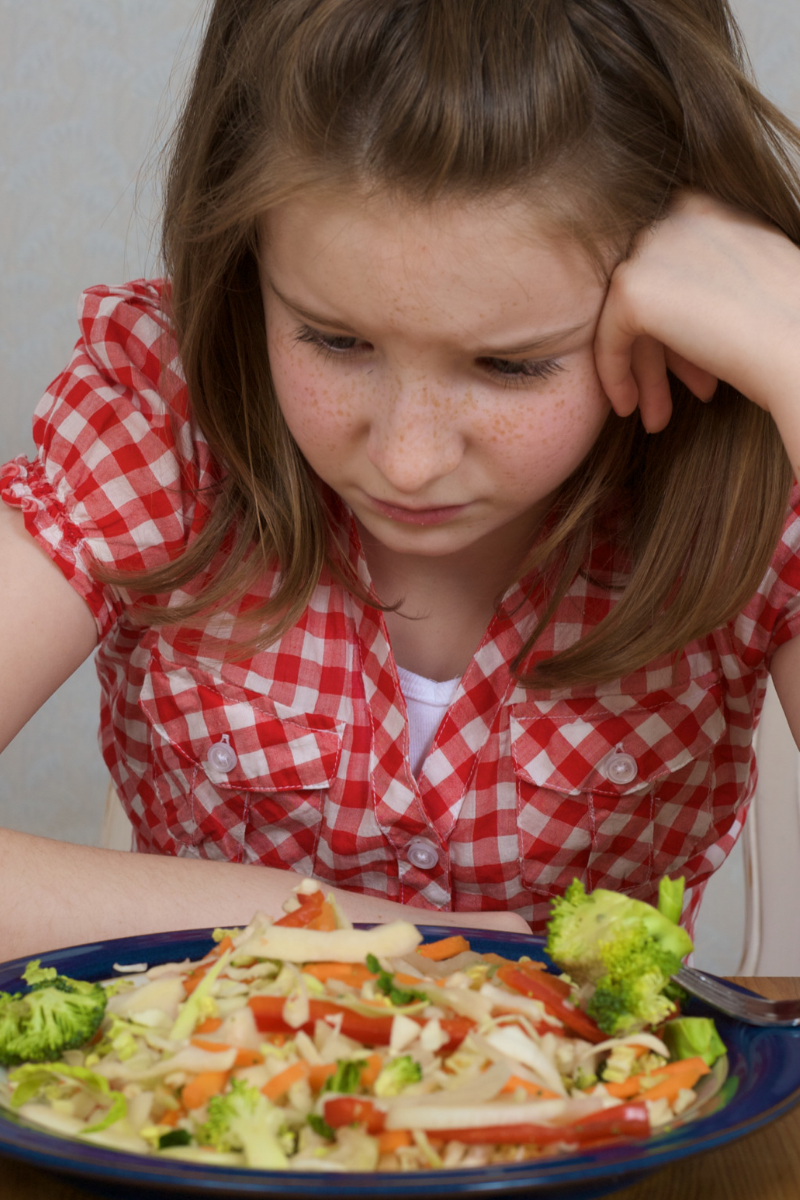 Feeding strategies for picky eaters